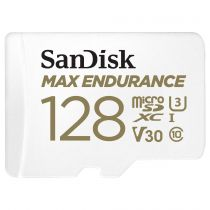 achat Micro SD / TransFlash - Carte Mémoire SanDisk Max Endurance      128Go microSDHC     SDSQQVR- SDSQQVR-128G-GN6IA