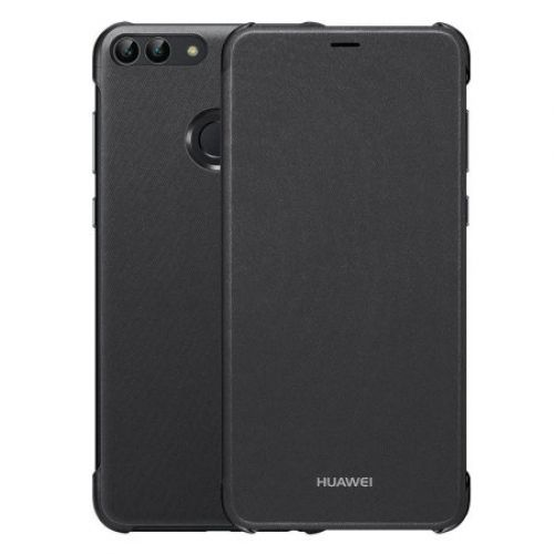 Funda Huawei P Smart 2018 Flip Cover Black