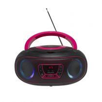 Comprar Radio Cassettes y reprodutores CD - Radio CD Denver TCL-212BT Rosa 111141300011