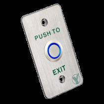 Comprar Accesorios Control Accesos - Botão salida piezoelétrico NO/COM DC12V Indicador LED Medidas 86x50x31 PBK-814B-LED