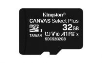 achat Micro SD / TransFlash - Kingston 32Go microSDHC Cartão Mémoire Canvas Select Plus Noir UHS-I  SDCS2/32GB