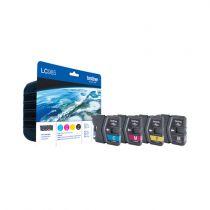 achat Encre imprimante Brother - Brother Encre Imprimante LC-985 Multipack ( 1x BK/M/C/Y) LC985VALBPDR