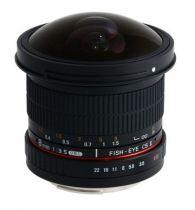 Comprar Objetivo para Canon - Objetivo Samyang F 3,5/8 UMC Fish-Eye II Canon 21506