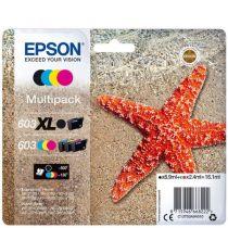 Comprar Cartucho de tinta Epson - Epson MULTIPACK de 4 color 603 XL Black/STD. CMY - preço válido para a C13T03A94020