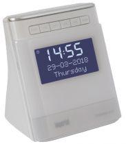 Comprar Relojes y despertadores - Despertador Imperial DABMAN d15 Blanco 22-274-00