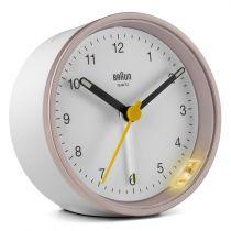 Comprar Reloj Pared - Braun BC 12 PW   Rosa/white 67103