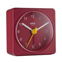 Comprar Reloj Pared - Braun BC 02 R quartz Despertador red 67081