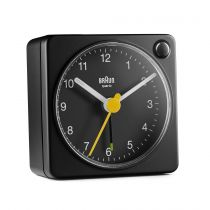 achat Horloge - Braun BC 02 XB quartz Noir + light switch 67100