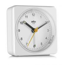 Comprar Reloj Pared - Braun BC 03 W quartz Despertador analog Blanco 67083