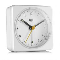 achat Horloge - Braun BC 03 W quartz alarm clock analog Blanc 67083