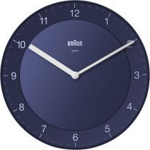 achat Horloge - Braun BC 06 BL Quartz wall clock analog blue 67097