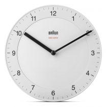 achat Horloge - Braun BC 17 W-DCF radio wall clock Blanc 67095