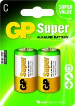 buy Batteries / Cells - Pilhas 1x2 GP Super Alkaline 1,5V C Baby LR14             03014AC2