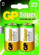 Comprar Pilas - Pilas 1x2 GP Super Alkaline 1,5V D Mono LR20             03013AC2 03013AC2