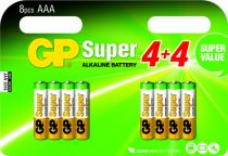 buy Batteries / Cells - Pilhas 4+4 GP Super Alkaline 1,5V AAA Micro LR03        03024ADHC8