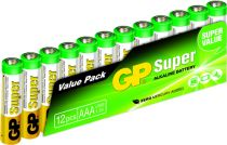 buy Batteries / Cells - Pilhas 1x12 GP Super Alkaline 1,5V AAA Micro LR03         03024AS12
