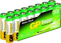 buy Batteries / Cells - Pilhas 1x12 GP Super Alkaline 1,5V AA Mignon LR06        03015AS16