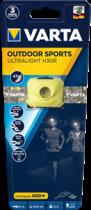 achat Lampe frontale - Lampe frontale Varta Outdoor Sports Ultralight H30R lime, wiederauflad 18631 201 401