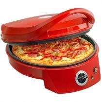 Comprar Microondas/Hornos - Bestron Horno Pizza APZ400 rojo 1.800 Watt | Calor superior, calor APZ400
