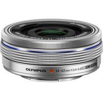 achat Objectif pour Olympus - Objetif Olympus M.Zuiko D 3,5-5,6/14-42 Pancake EZ Argent V314070SE000