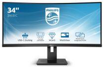 achat Ecran Philips - PHILIPS Ecran LED 34´´ 21:9 CURVO WQHD HDMI DP USB-C Enceintes 346B1C 346B1C/00