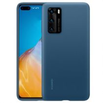 Comprar Accesorios Huawei P40 / P40 Pro - Funda Huawei P40 Silicona Ink Azul Original  51993721