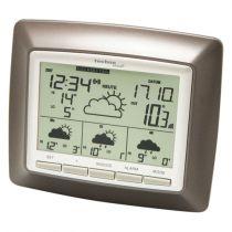 achat Thermomètres / Baromètre - Estação Metereológica Technoline WD 4008 brown metallic - silver WD 4008