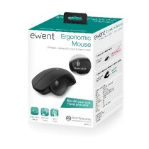 Comprar Raton inalambrico - EWENT Inalambrico Ergonomic Thumb Scroll mouse