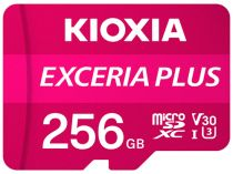 achat Micro SD / TransFlash - Carte Mémoire Kioxia Exceria Plus microSDXC 256Go Class 10 UHS-1 U LMPL1M256GG2