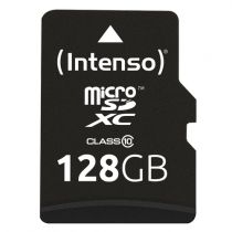 achat Micro SD / TransFlash - Carte Mémoire Intenso microSDXC          128Go Class 10 3413491