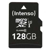 achat Micro SD / TransFlash - Carte Mémoire Intenso microSDXC          128Go Class 10 UHS-I Profess 3433491