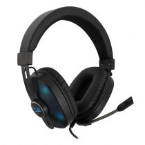 achat Casque Gaming - EWENT Gaming Headset with Mic, Light effect, for PC and Console, 2xjac PL3321
