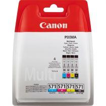 Comprar Cartucho de tinta Canon - Canon CLI-571 - C/M/Y/BK MULTI BL SEC - MULTI PACK 0386C005