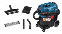 Comprar Aspiradores en seco y húmedo - Bosch Aspiradora GAS 35 L SFC+ azul con acessorios | Piso duro, carpet 06019C3000