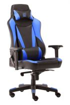 achat Chaise pour Gaming - LC-POWER Cadeira Gaming LC-Power LC-GC-701BBL black/blue LC-GC-701BBL