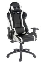 achat Chaise pour Gaming - LC-POWER Cadeira Gaming LC-Power LC-GC-2 black/white LC-GC-2