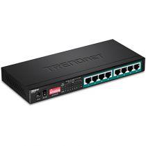 Comprar Switch - TRENDnet Switch 8-port Gbit PoE+ long range 200m 65W Metal TPE-LG80