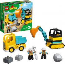 achat Lego - LEGO Duplo 10931 Truck & Tracked Excavator 10931