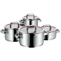 achat Skillet et Casseroles - WMF Function 4 Pot-Set, 4pc. + glasslid, for induction 760046380