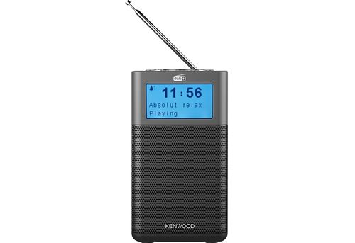 Radio KENWOOD CR-ST50DAB Stereo DAB+ with Bluetooth/FM anthracite