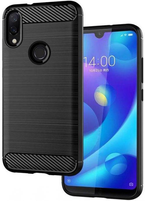 Etui Protection Carbon Xiaomi Redmi Note 7 Noir