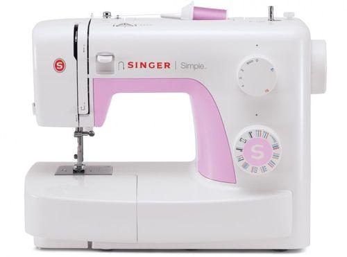 Machine à coudre Singer Simple 3223 Rose | Pour frente, trás, ziguezag