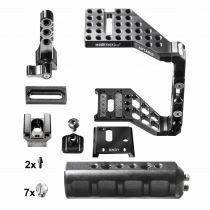 achat Fixation & Support - Reflex video - walimex pro Aptaris Unversal XL MKII Plus Set