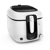 achat Friteuse - Friteuse Tefal FR 3140 Super Uno + Timer               Blanc/black