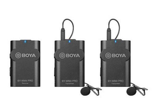 Boya KIT Micrófono Inalambrico 2.4 GHZ RECEPT+ 2 TRANS