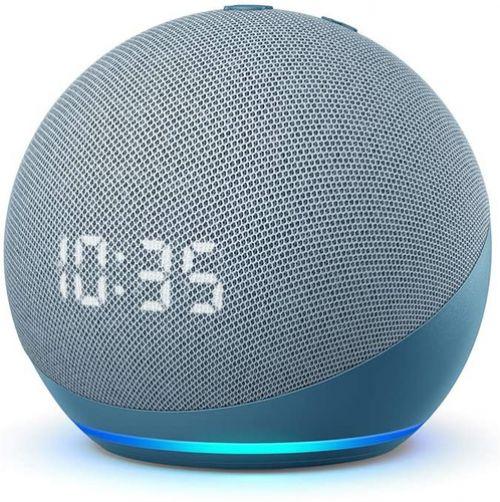 Altavoces Smart Assistant Amazon Echo Dot 4 Twilight Azul + reloj