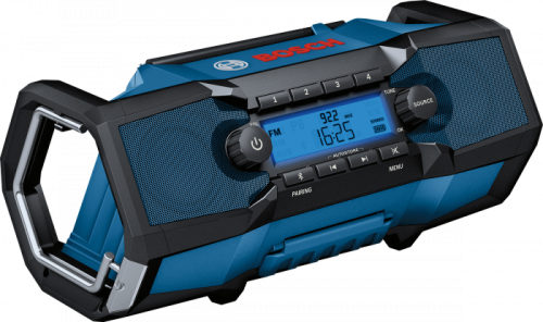 Rádio Bosch GPB 18V-2 C Professional cordless construction site radio