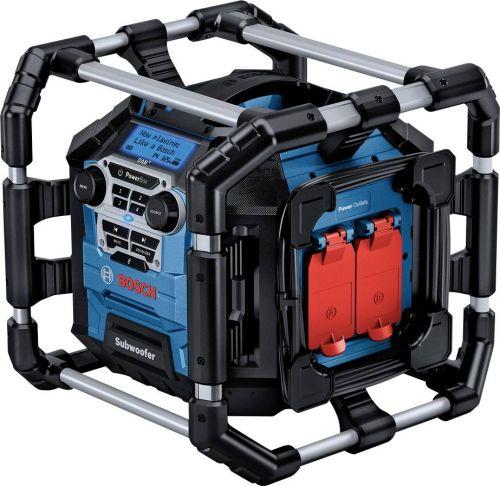 Rádio Bosch GPB 18V-5 SC Professional cordless construction site radio