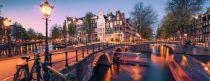 Puzzle Ravensburger 1000 pcs Puzzle Evening over Amsterdam