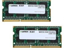 achat Mémoire PC Bureau - Mémoire PC Bureau Mushkin SO-DIMM 16Go DDR3-1600 Kit MAR3S160BT8G28X2